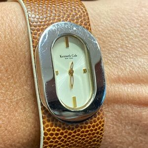Kenneth Cole leather band watch